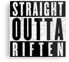 Adventurer with Attitude: Riften Metal Print