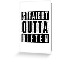 Adventurer with Attitude: Riften Greeting Card