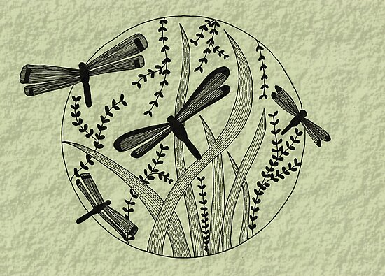 Dragonflies by Night by Kelly Robinson