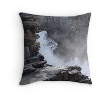 Carved By Water Throw Pillow