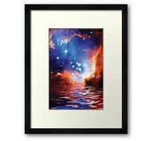 Star Nursery Framed Print