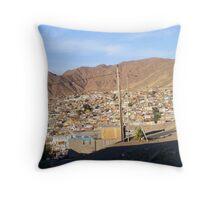 La cuidad que no me esperaba, Antofagasta - Chile Throw Pillow
