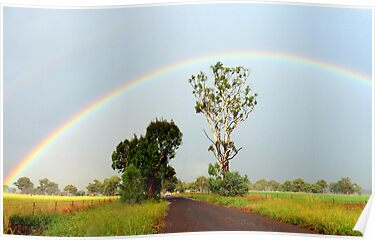 Double Rainbow by Julie Sleeman