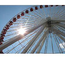 Ferris Wheel, Navy Pier Photographic Print