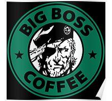 Big Boss Coffee Poster
