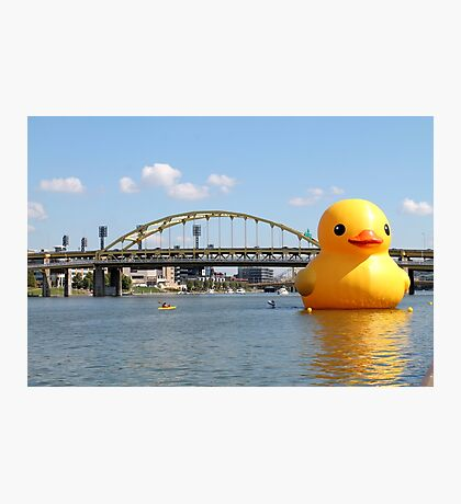 The Giant Duck Photographic Print