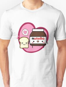 Kawaii Nutella and sandwich bread T-Shirt