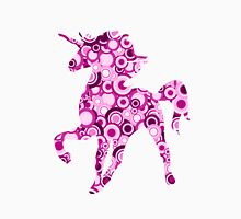 Pink Unicorn - Animal Art Womens Fitted T-Shirt