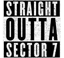 Sector 7 Represent! Photographic Print