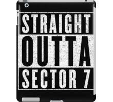 Sector 7 Represent! iPad Case/Skin