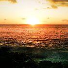 sunset by zoena