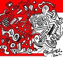 Graffio #99  by Terry  Burton