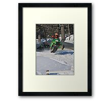 Ahead of the Competition I Framed Print