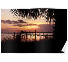 INDIAN RIVER SUNRISE Poster