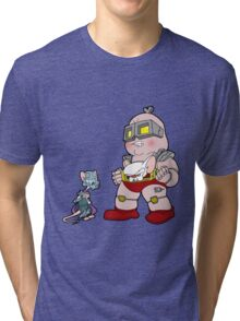 Gee Kraang what are gonna do tonight? Tri-blend T-Shirt