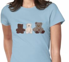 Three Bears Womens Fitted T-Shirt