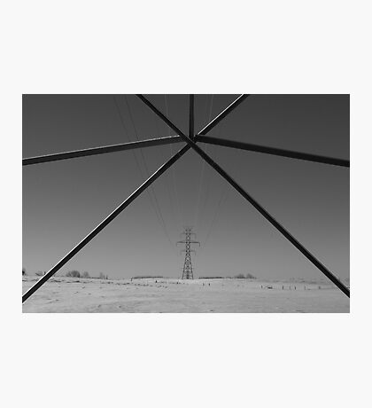 electrical wire Photographic Print