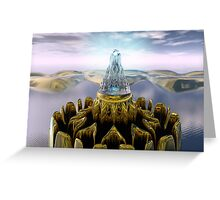 Temple Of Light Greeting Card