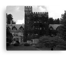 Hatley castle Canvas Print