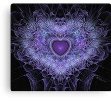 Passionate Heart Canvas Print