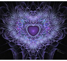 Passionate Heart Photographic Print