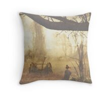 Melodies of a Misty Morning Throw Pillow