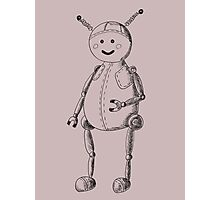 Funny robot Photographic Print