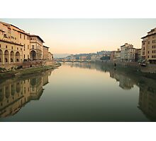 Arno River - Florence Photographic Print