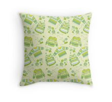 Sweaters #2 Throw Pillow