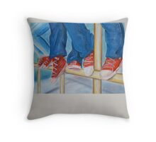 The Three All Stars Throw Pillow