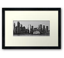 Circular Quay  - Vista Framed Print