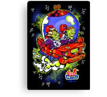 Space Rotten Canvas Print