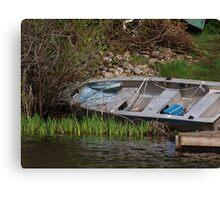 row boat Canvas Print