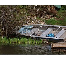 row boat Photographic Print