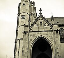 Church in Muenstermaifeld, Germany by NicoleBPhotos
