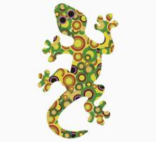 Little Lizard - Animal Art One Piece - Long Sleeve