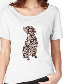 Chocolate Lab - Animal Art Women's Relaxed Fit T-Shirt