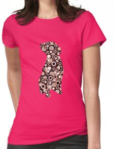 Chocolate Lab - Animal Art Womens Fitted T-Shirt
