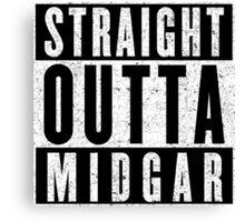 Midgar Represent! Canvas Print
