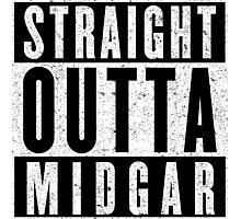 Midgar Represent! Photographic Print