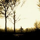 The Morning Biker by ienemien
