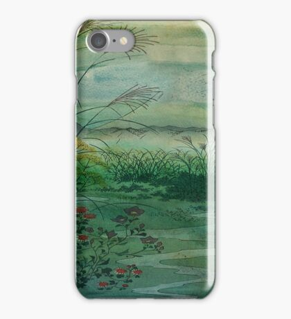 The Green, Green Grass of Home iPhone Case/Skin