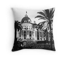 Hotel Negresco, Nice, France Throw Pillow