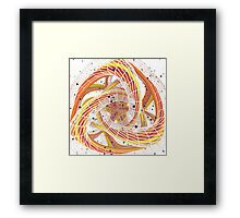 Evil Gen - Abstract CG Framed Print