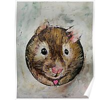 Hamster Love Poster