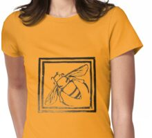 Anatobee with border Womens Fitted T-Shirt