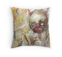 Devil Woman Throw Pillow