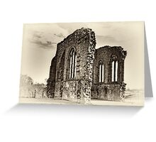 Egglestone Abbey Greeting Card