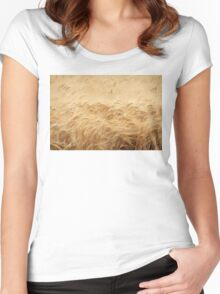 The Wheat Field Women's Fitted Scoop T-Shirt