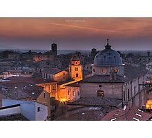 an italian cityscape Photographic Print